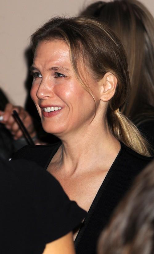 Renee Zellweger en octobre 2013