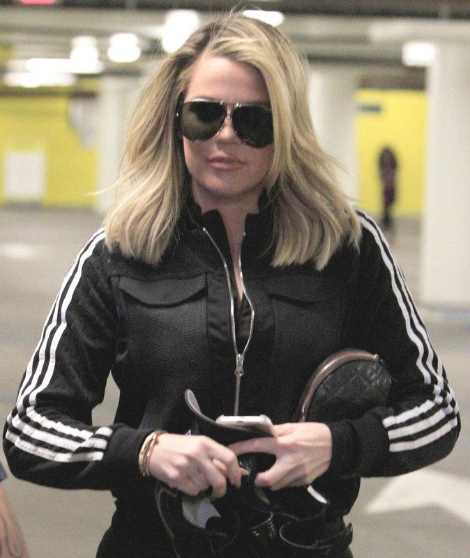 Photos : Reprise de sport intensive pour Khloé Kardashian