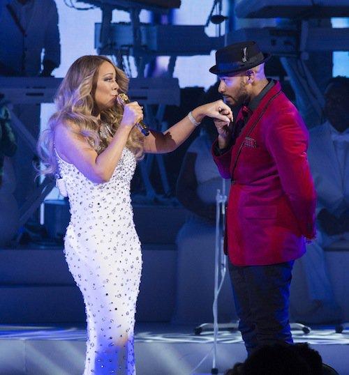 Photos : requinquée, Mariah Carey donne tout sur scène !