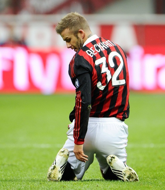 David Beckham à l'AC Milan