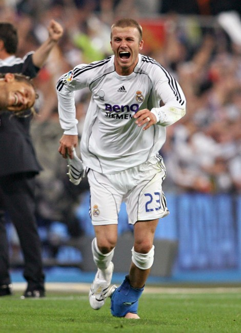 David Beckham au Real Madrid