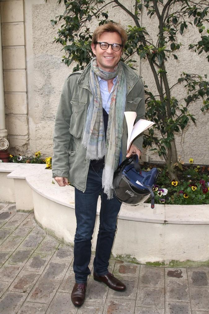 """Laurent Delahousse à la conférence de presse pour la troisième édition de """"La flamme Marie Claire"""" !"""
