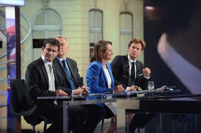 Laurent Delahousse lors du Second Tour des élections présidentielles en 2007 !