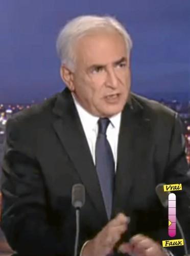 """Dominique Strauss-Kahn """"Il faut lire le rapport du procureur"""""""