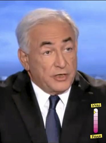 """Dominique Strauss-Kahn """"Je suis content de pouvoir m'exprimer"""""""