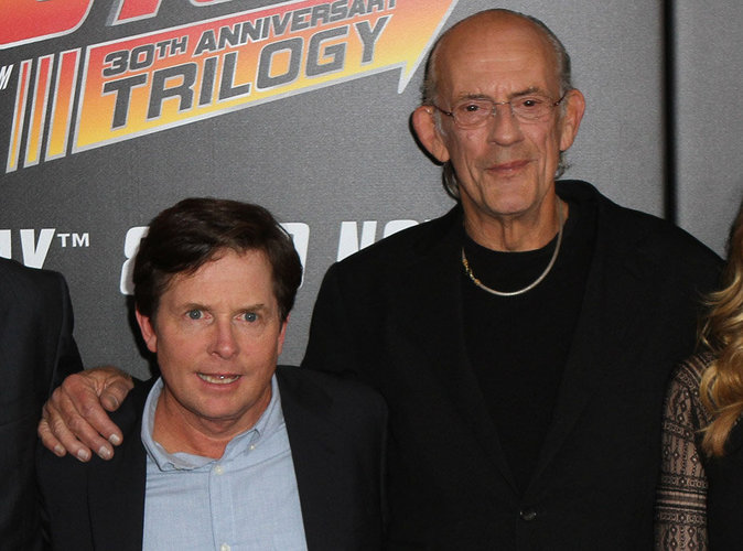 Michael J. Fox et Christopher Lloyd
