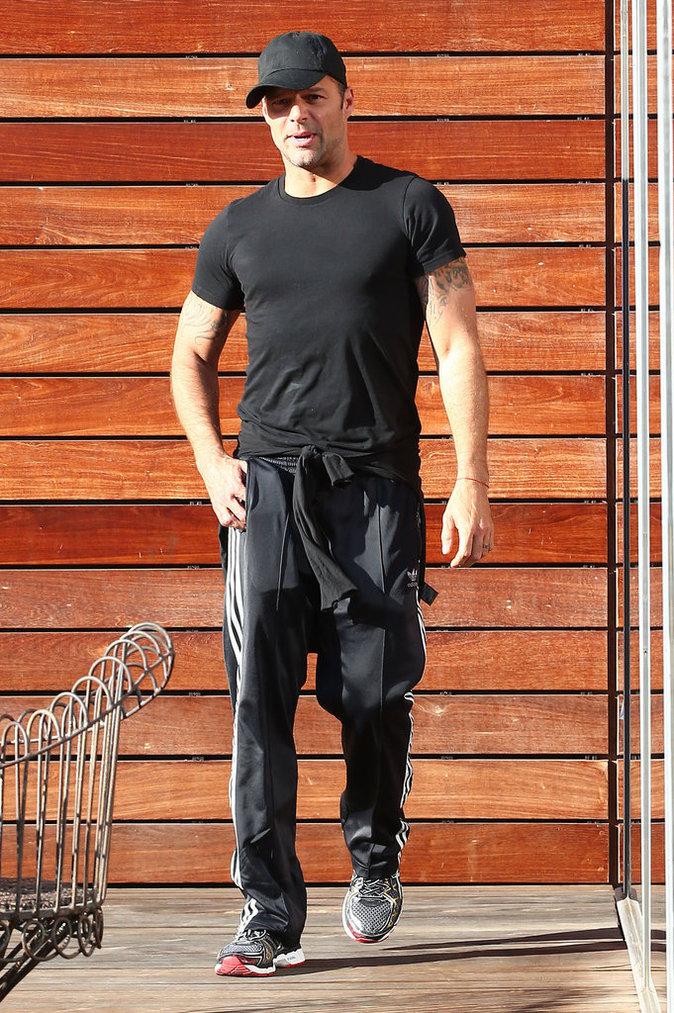 Ricky Martin à West Hollywood