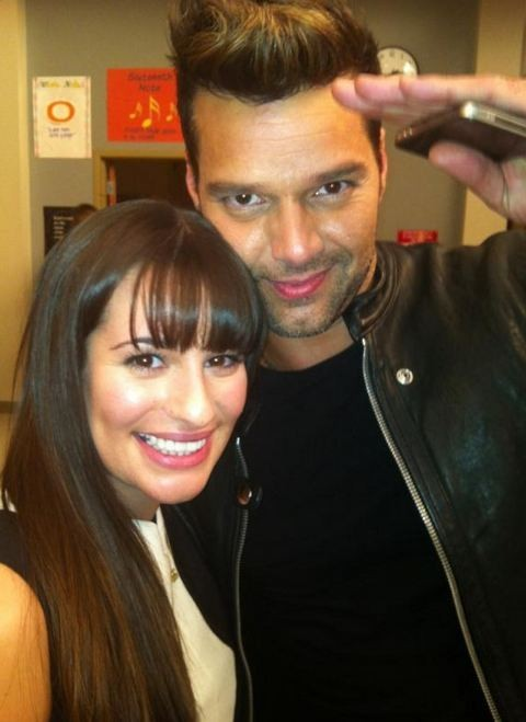 Lea Michele, grande amie de Ricky Martin !