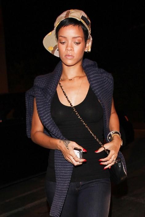 Rihanna à Los Angeles le 16 octobre 2012