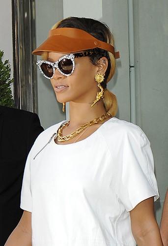 Rihanna à Londres le 15 juillet 2013