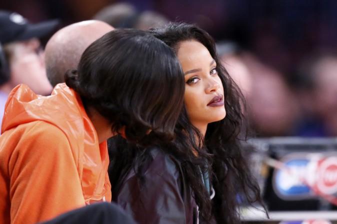 Photos : Rihanna : alerte à la bombe au match des Lakers !