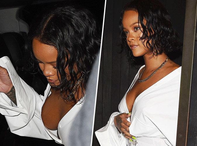 Rihanna : Attention ! La bombe est arrivée mais a failli nous montrer sa poitrine