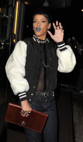 Rihanna à Londres, le 10 septembre 2013.