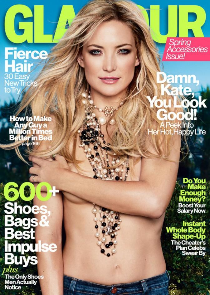 Kate Hudson pour Glamour