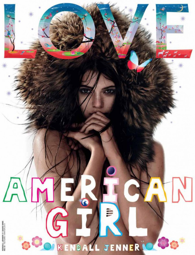 Kendall Jenner pour Love