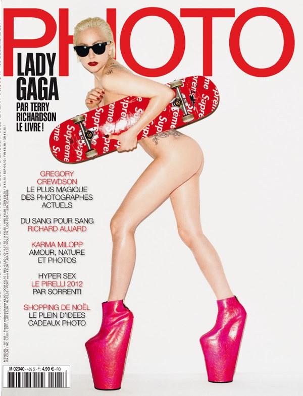 Lady Gaga pour Photo