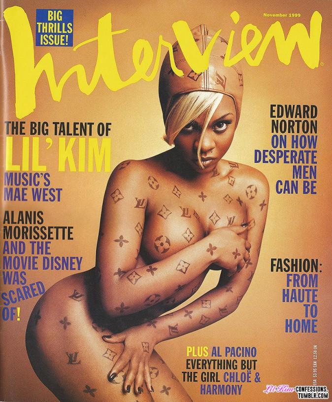 Lil' Kim pour Interview novembre 1999