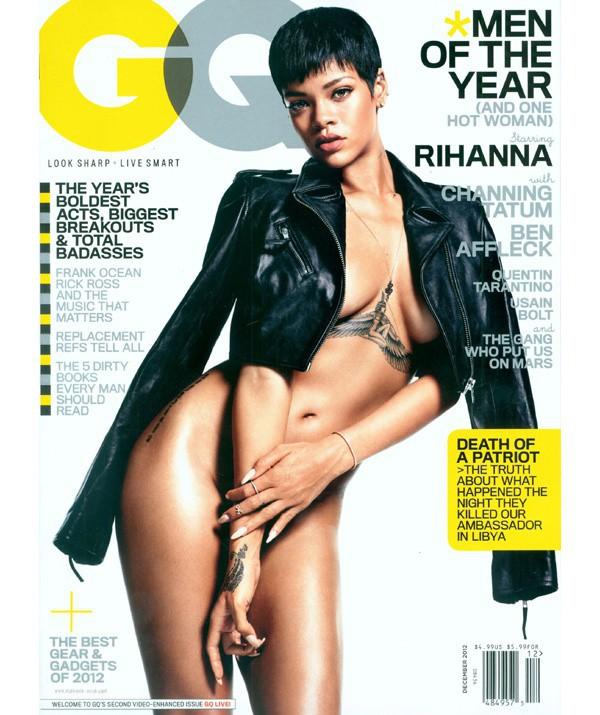 Rihanna pour GQ décembre 2012