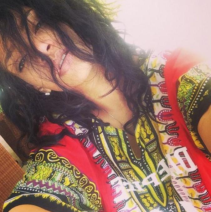 Rihanna décompresse sur ses terres
