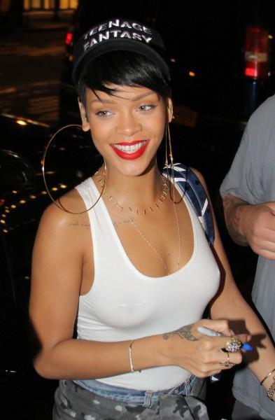 Rihanna à New York, le 4 septembre 2013.