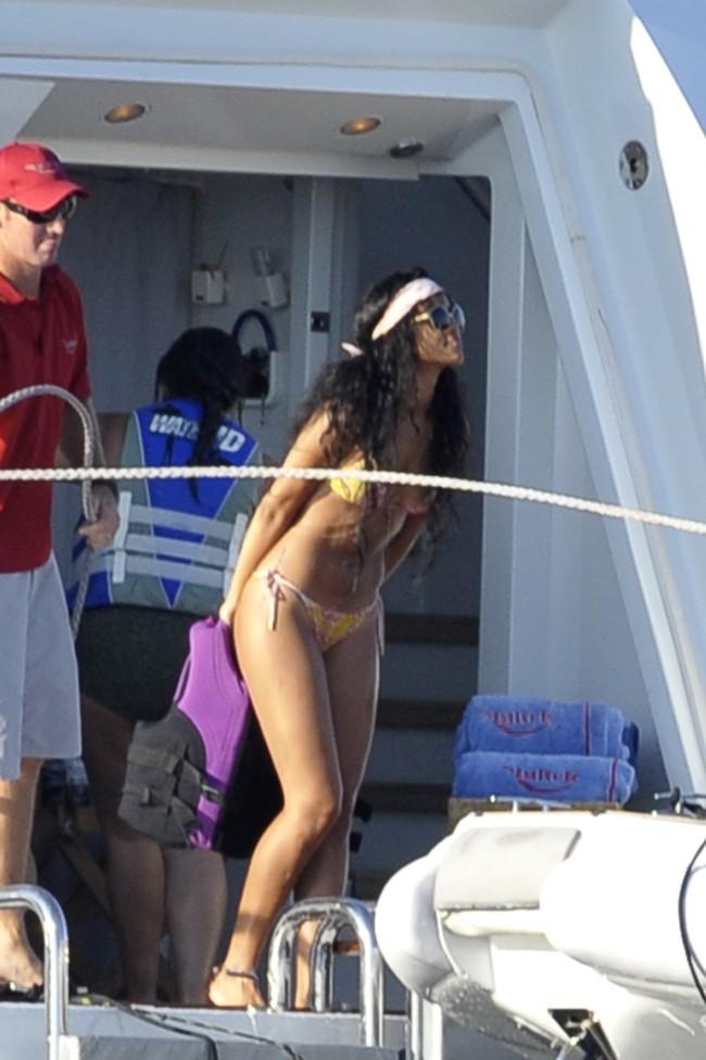 Rihanna le 18 juillet 2012 à Capri