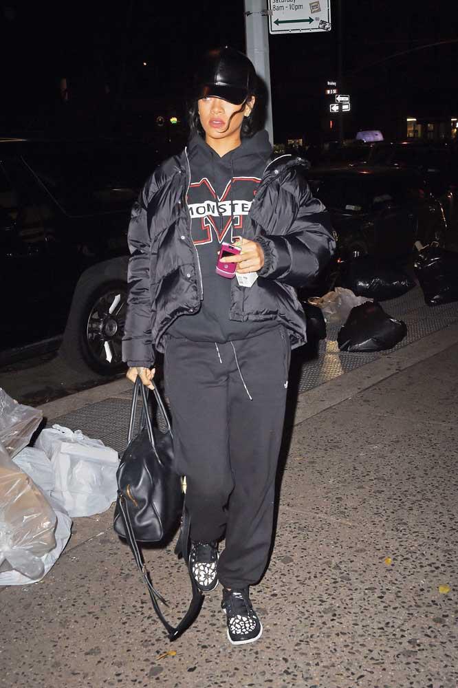 Rihanna à New-York le 25 novembre 2014