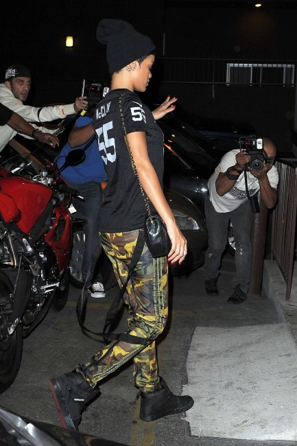 Rihanna le 17 octobre 2012 à Los Angeles