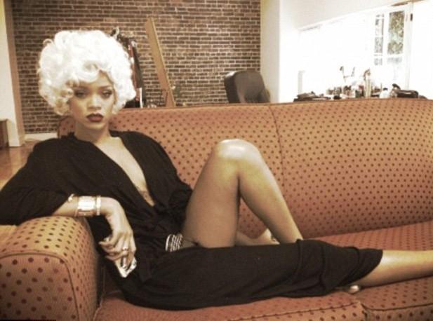 Photos : Rihanna dans la peau de Marilyn Monroe !