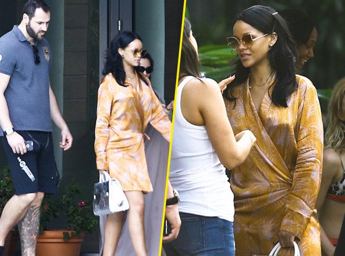 Rihanna et son garde du corps