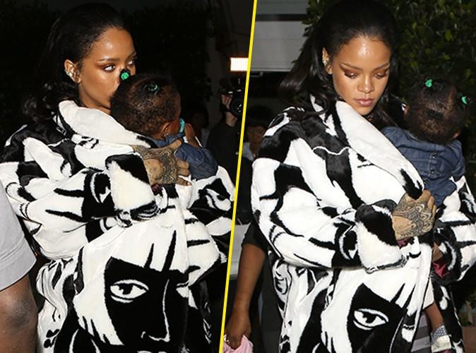Photos : Rihanna : dîner avec l'adorable Majesty, elle ne la quitte plus !