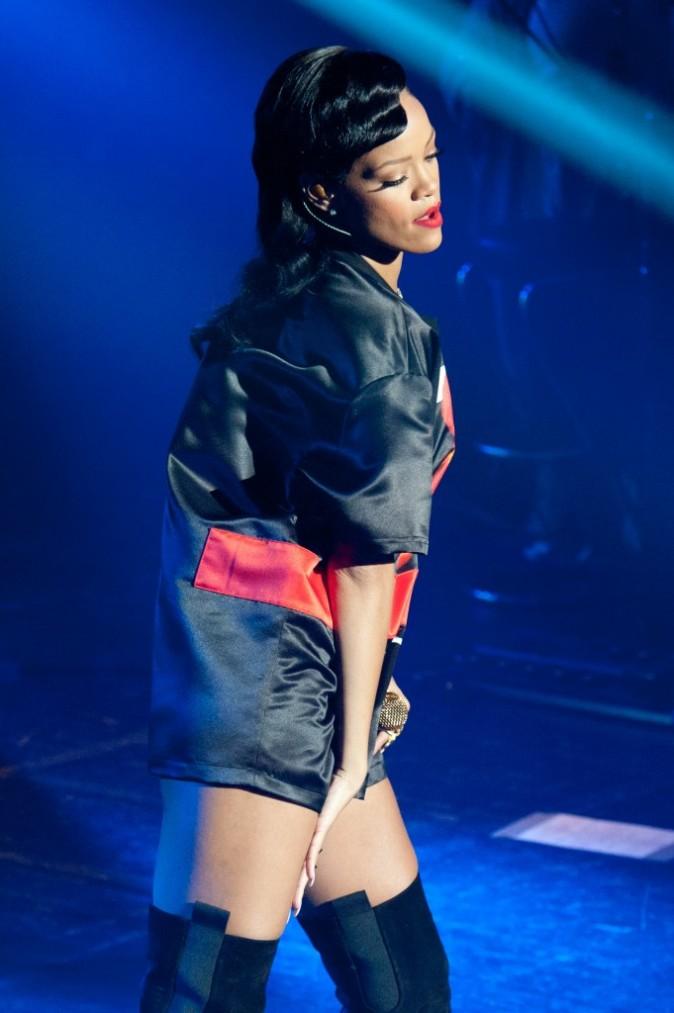 Rihanna au Trianon de Paris le 17 novembre 2012
