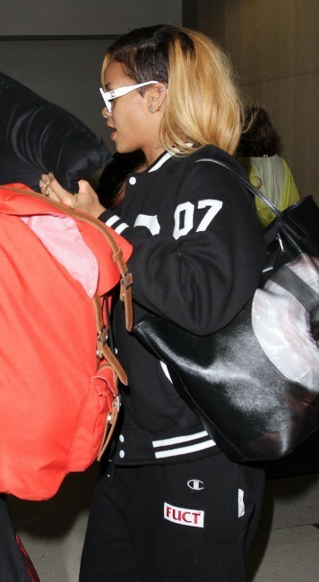 Rihanna, Los Angeles, 17 mai 2013.
