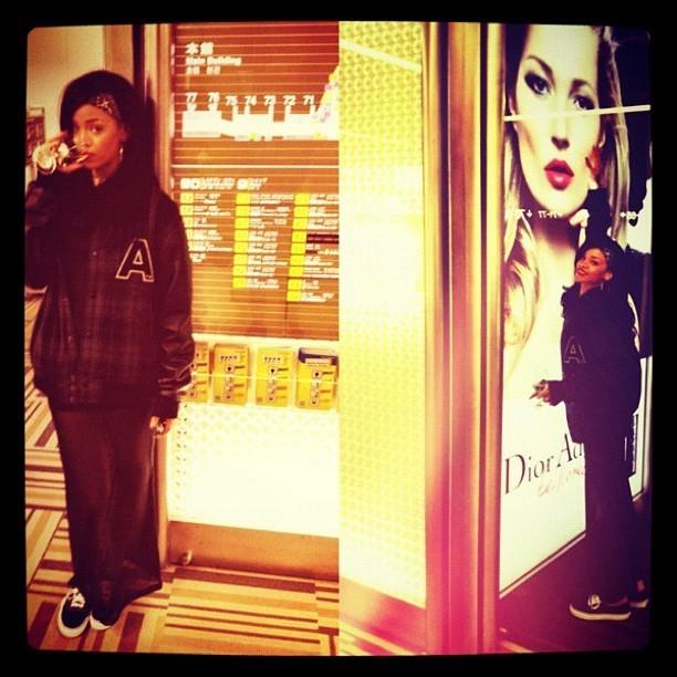 Rihanna à l'aéroport !