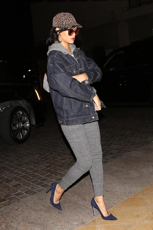 Rihanna à Beverly Hills le 26 octobre 2012