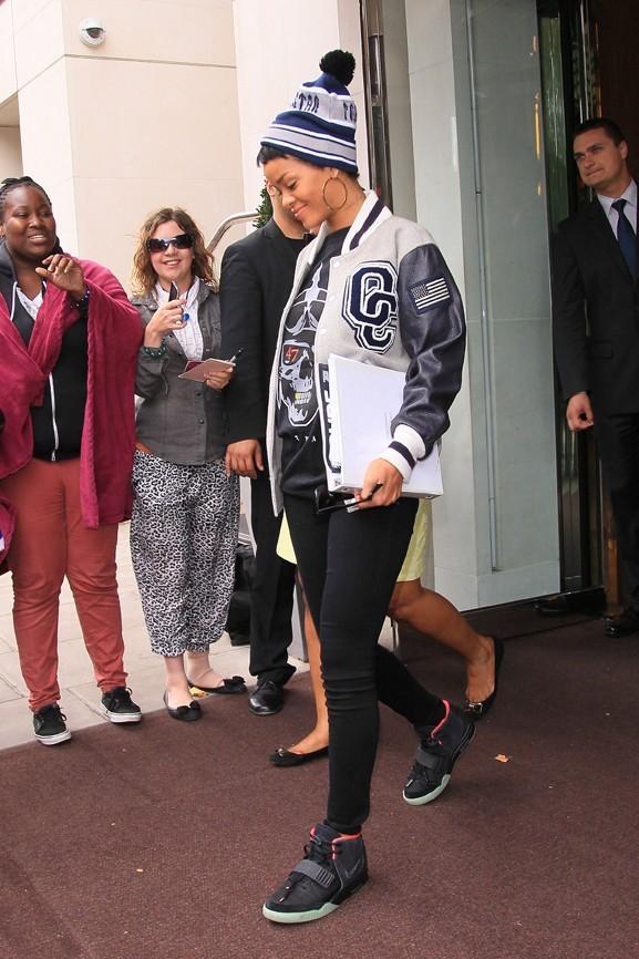 Rihanna à Londres le 10 septembre 2012
