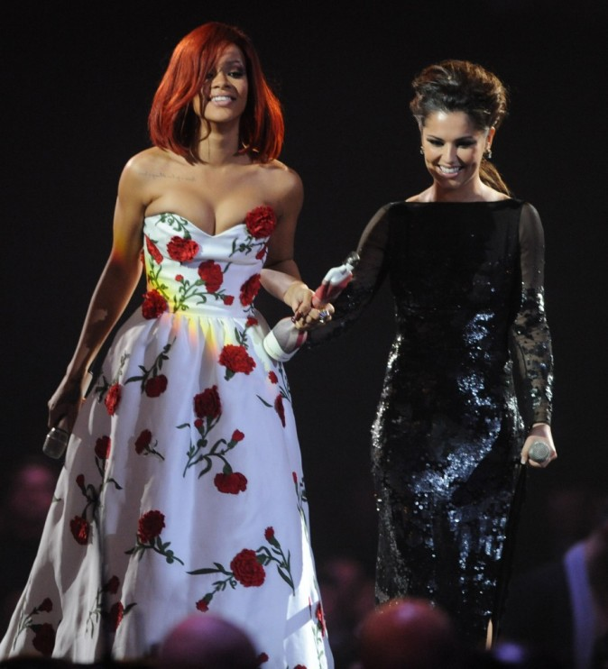 Rihanna et Cheryl Cole