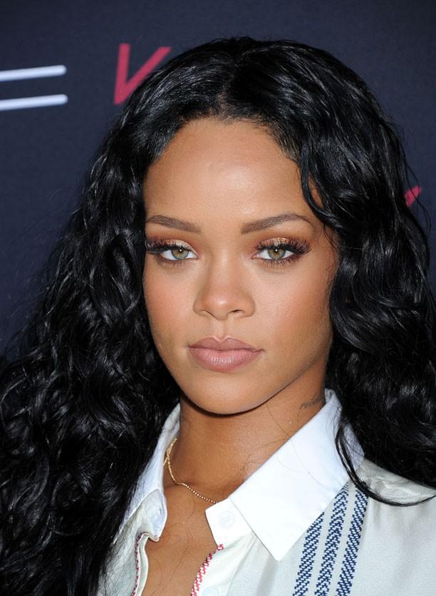 Rihanna au déjeuner pre-Grammy organisé par MAC et Roc Nation à Los Angeles le 25 janvier 2014