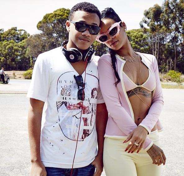 Rihanna et son petit frère, Rajad Fenty !