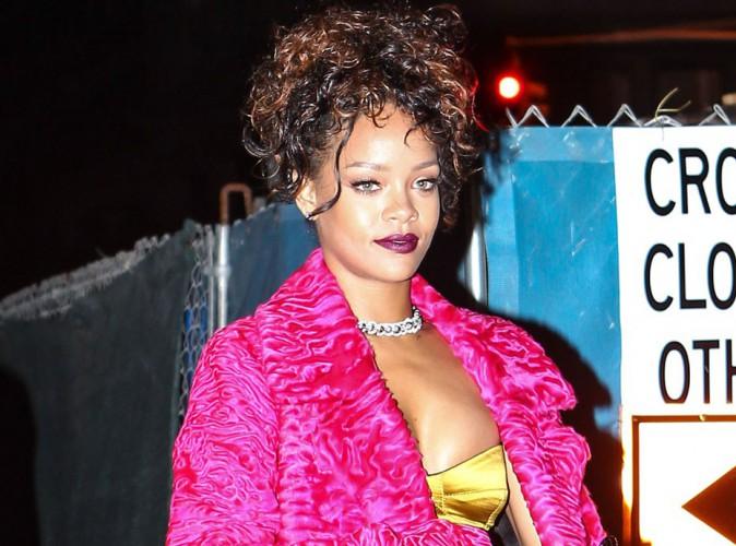Rihanna : de sortie avec sa BFF, elle nous replonge dans les ann�es 80 !