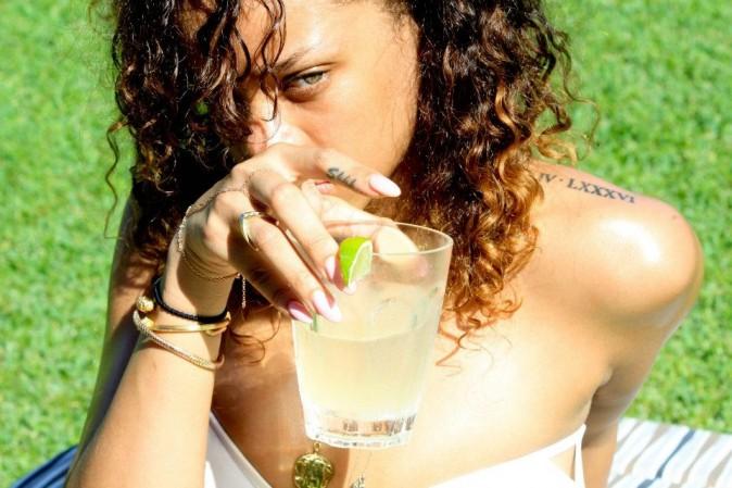Les vacances de Rihanna en janvier 2012 à Hawaï !