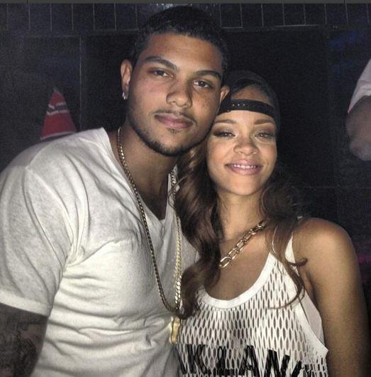 Rihanna en charmante compagnie