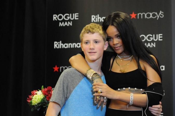 Rihanna à Atlanta le 25 octobre 2014