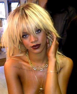 Rihanna en blonde pour ELLE