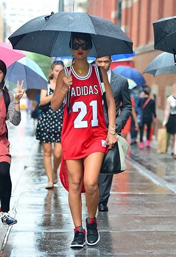 RIhanna à New-York le 2 septembre 2013