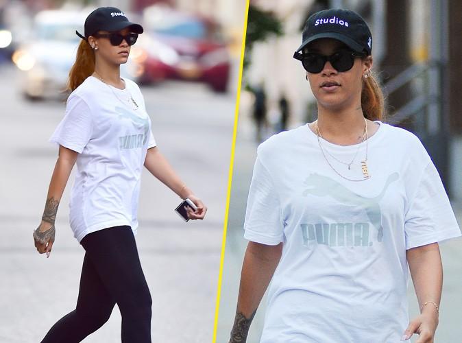 Rihanna à New York, le 10 juillet 2015
