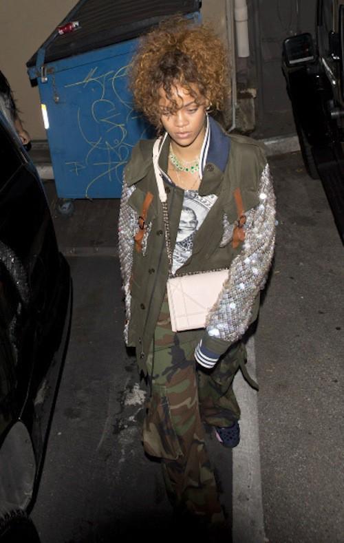 Photos : Rihanna : épuisée par le boulot ou soirées secrètes avec Lewis Hamilton ?