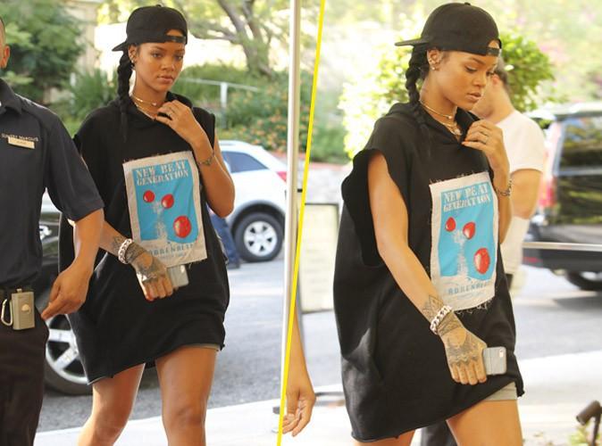 Rihanna : �puis�e par l'enregistrement de son nouvel album ?