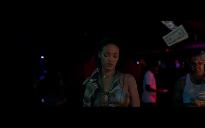 Rihanna est dangereusement v�tre dans
