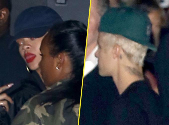 Rihanna et Justin Bieber quittent une soir�e ensemble � Los Angeles