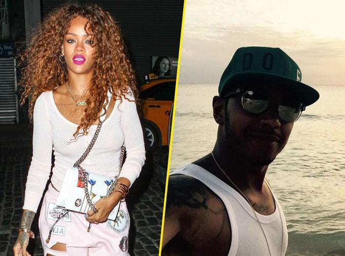 Rihanna et Lewis Hamilton à New York, le 12 août 2015